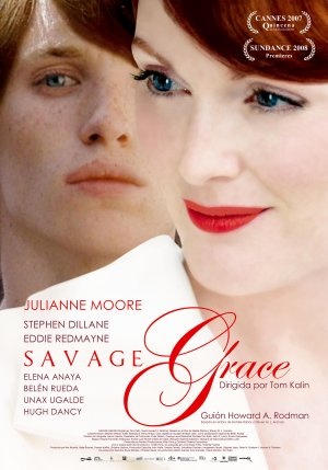 Cartel de Savage Grace
