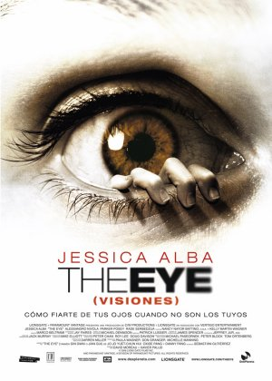 Cartel de The eye (Visiones)