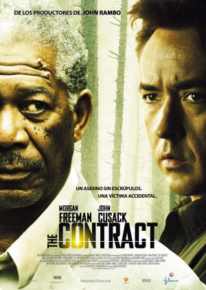 Cartel de The contract