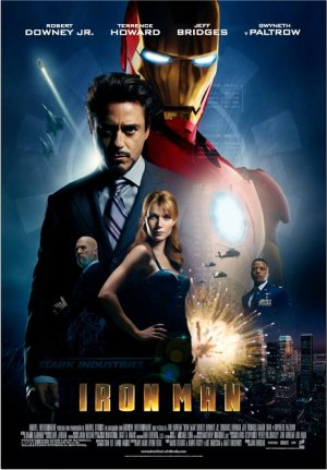 Cartel de Iron man