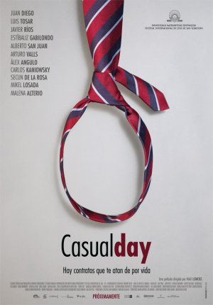 Cartel de Casual day