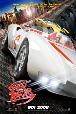 Cartel de Speed Racer