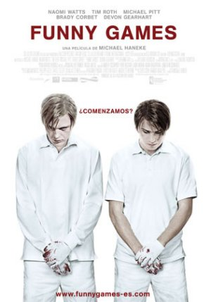 Cartel de Funny games