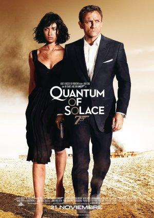 Cartel de 007 Quantum of solace