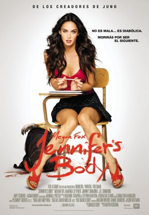 Cartel de Jennifer's body