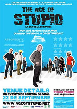 Cartel de The age of stupid
