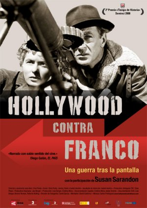 Cartel de Hollywood contra Franco