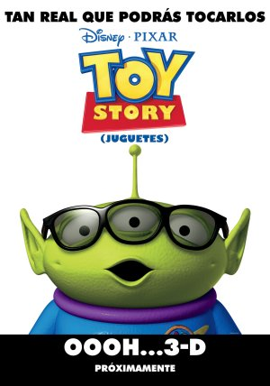 Cartel de Toy Story 3D