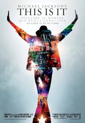 Cartel de Michael Jackson's This is it