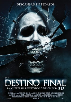 Cartel de El destino final 3D