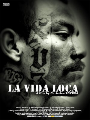 Cartel de La vida loca (Made in USA)