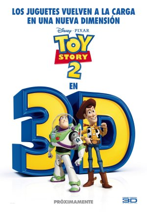 Cartel de Toy story 2 3D