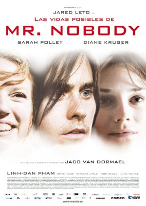 Cartel de Las vidas posibles de Mr. Nobody