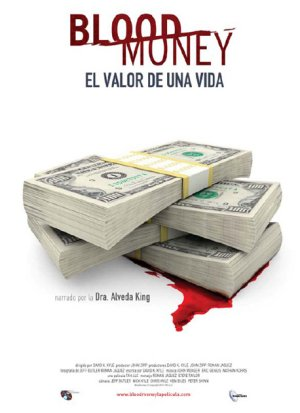 Cartel de Blood money, el valor de una vida