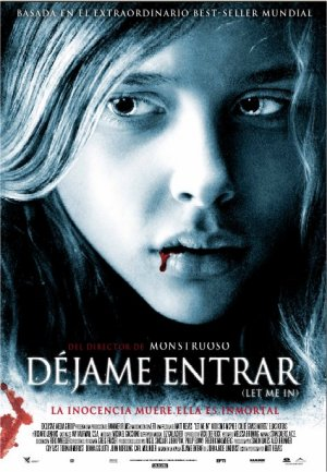 Cartel de Déjame entrar (Let me in)