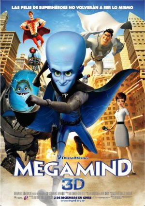 Cartel de Megamind