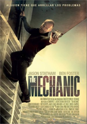 Cartel de The mechanic