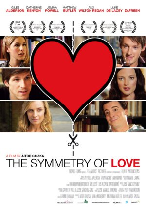 Cartel de The symmetry of love