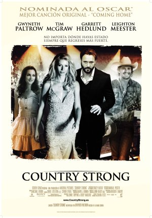 Cartel de Country strong