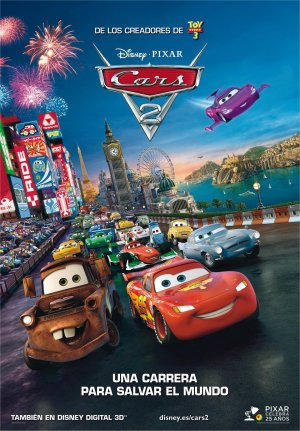Cartel de Cars 2