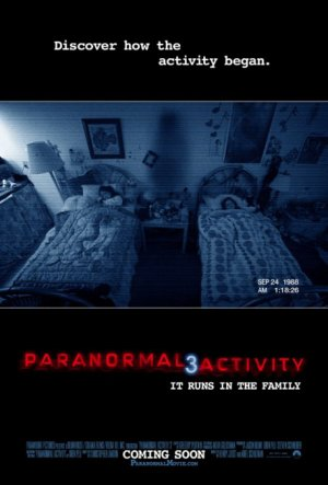 Cartel de Paranormal activity 3