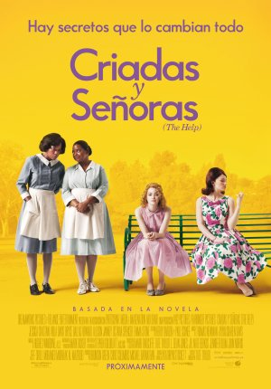 Cartel de Criadas y señoras (The help)