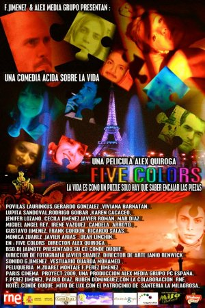 Cartel de Five colors