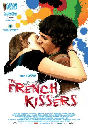 Cartel de The French kissers