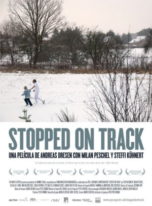 Cartel de Stopped on track