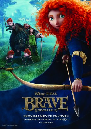 Cartel de Brave (Indomable)