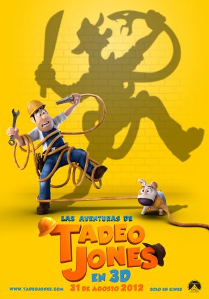 Cartel de Las aventuras de Tadeo Jones