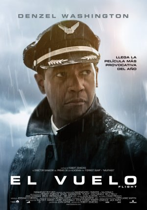 Cartel de El vuelo (Flight)
