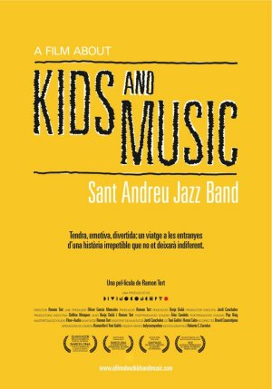 Cartel de A Film About Kids and Music. Sant Andreu Jazz Band