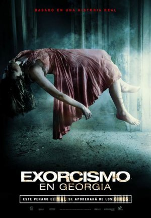 Cartel de Exorcismo en Georgia