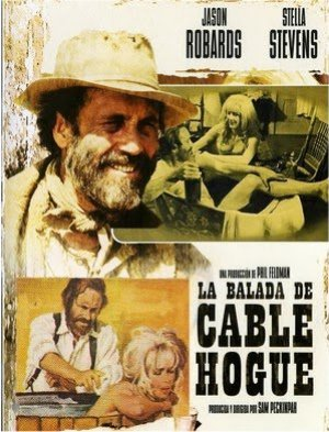 Cartel de La balada de Cable Hogue