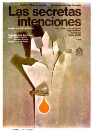 Cartel de Las secretas intenciones