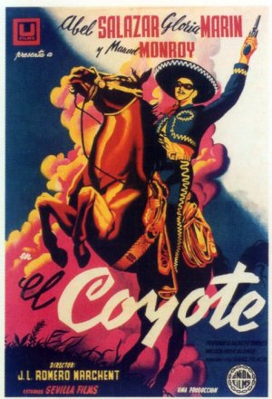 Cartel de El coyote