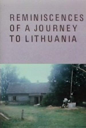 Cartel de Reminiscences of a Journey to Lithuania