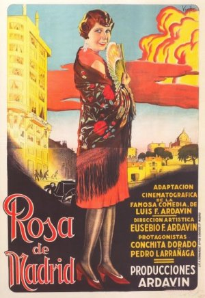 Cartel de Rosa de Madrid