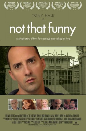 Cartel de Not that funny