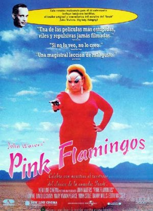 Cartel de Pink Flamingos
