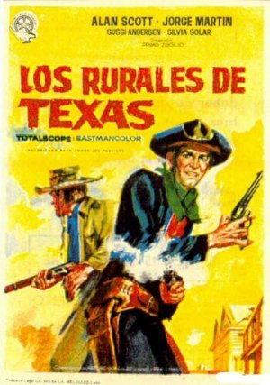 Cartel de Los rurales de Texas
