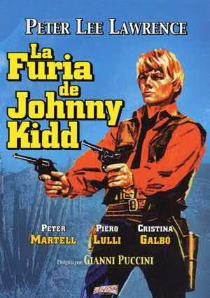 Cartel de La furia de Johnny Kid