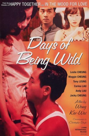 Cartel de Days of Being Wild (Días salvajes)