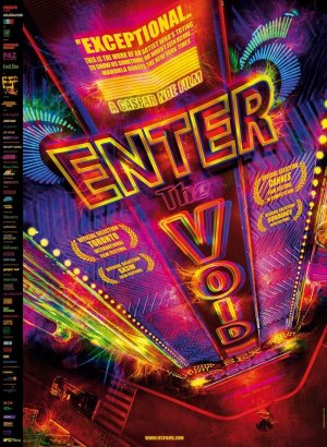 Cartel de Enter the void