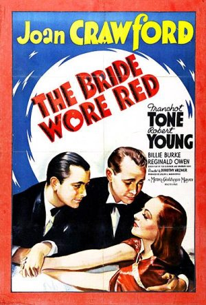 Cartel de The Bride Wore Red