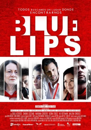 Cartel de Blue lips