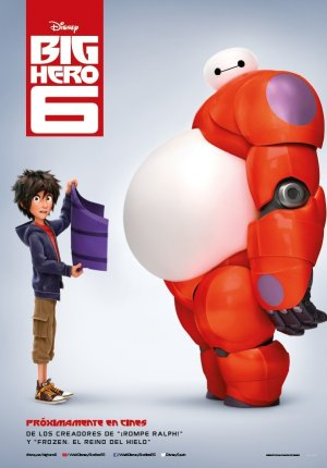 Cartel de Big hero 6