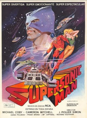 Cartel de Supersonic Man