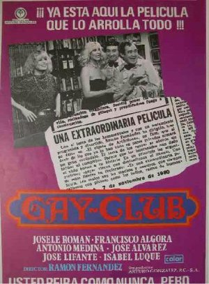 Cartel de Gay club